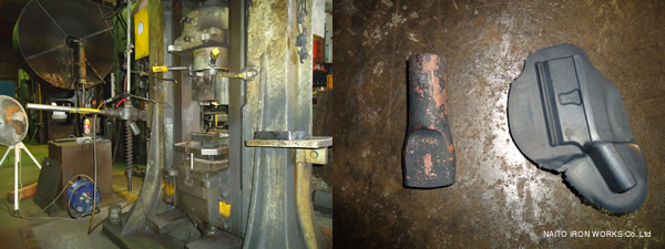 NAITO IRON WORKS Co,.Ltd Forging01